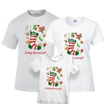 Karácsonyi póló szett