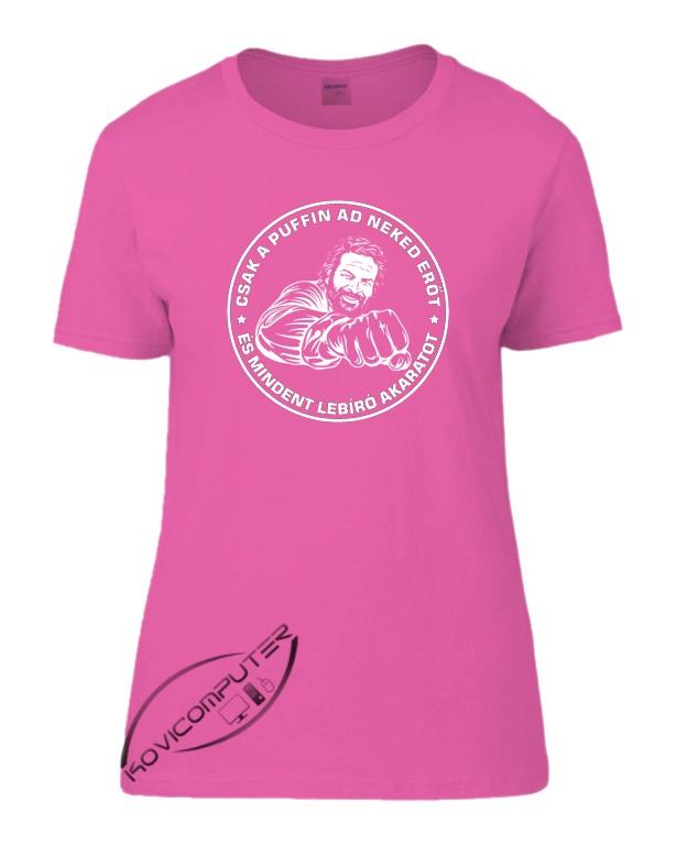83d09c9575 Bud Spencer NŐI póló - Fényképes, feliratos póló (férfi, női ...