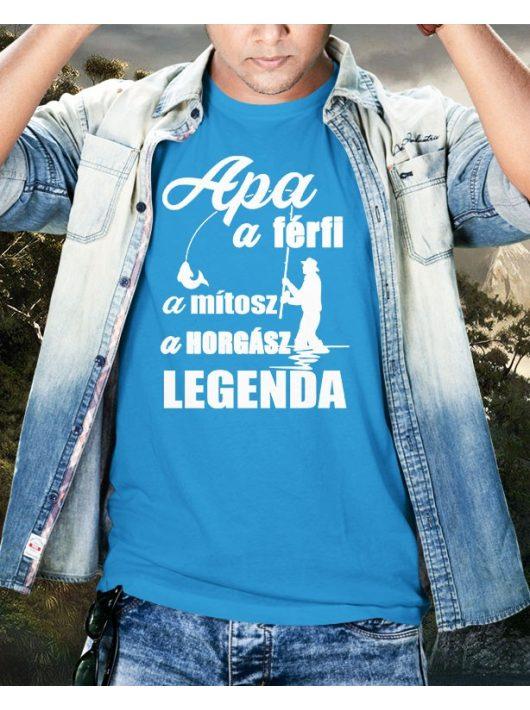 Apa a férfi a mítosz a horgász legenda póló