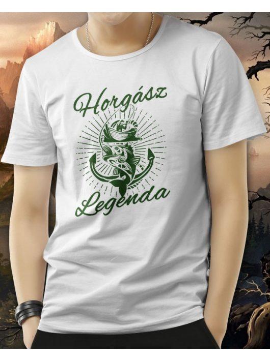 Horgász legenda póló