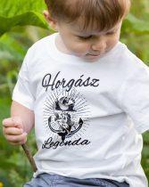 Horgász legenda gyerek póló