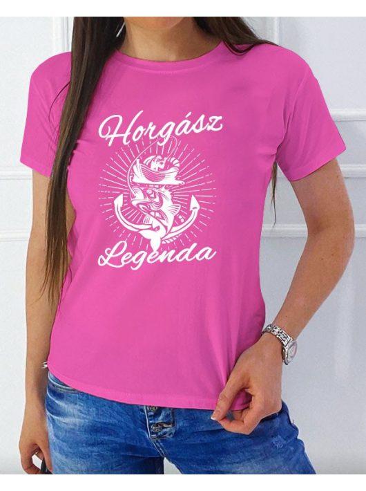Horgász legenda NŐI póló
