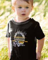 A legjobb traktoros, limitált kiadás gyerek póló