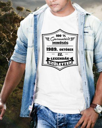 Garantált minőség 100% póló