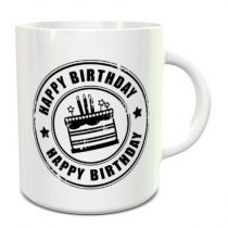 Happy Birthday bögre