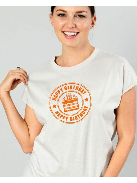 Happy Birthday NŐI póló