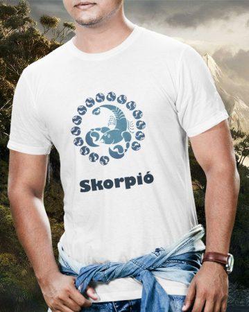 Skorpió horoszkóp póló