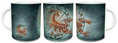 Skorpió horoszkóp bögre
