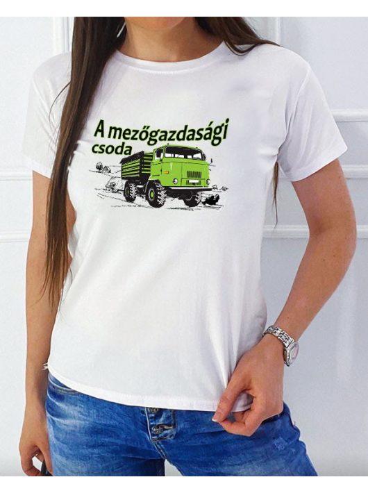 A mezőgazdasái csoda IFA L60 NŐI póló