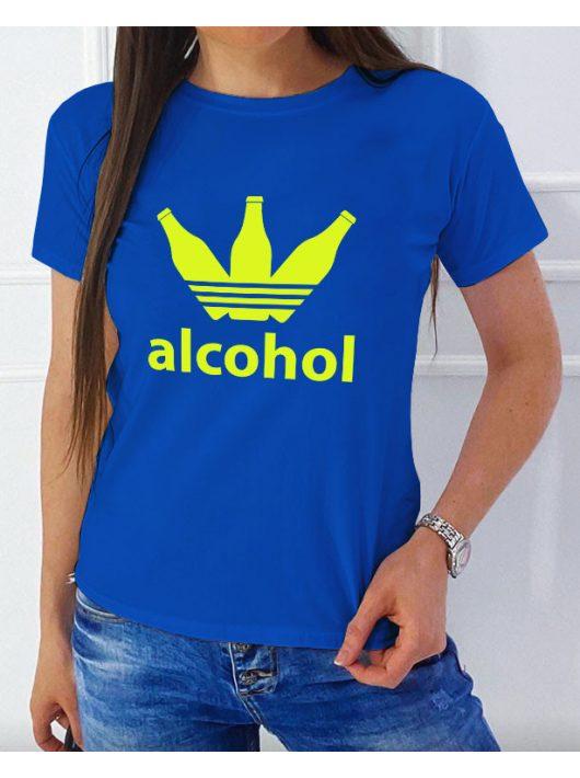 Alcohol NŐI póló