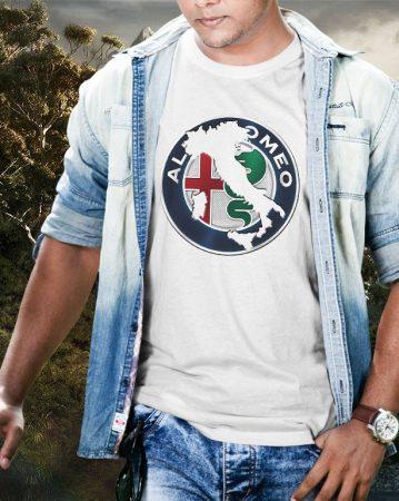 Alfa Romeo logó póló
