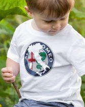 Alfa Romeo logo gyerek póló