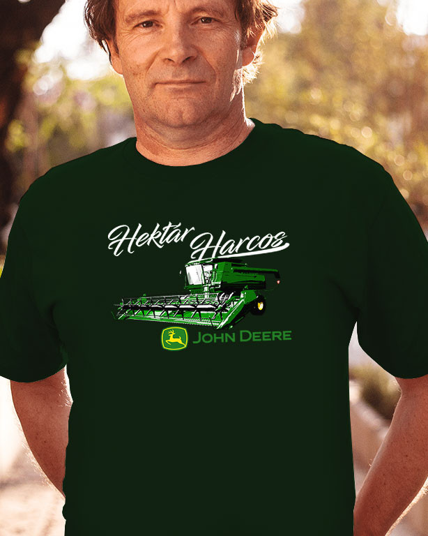 99e9406a75 Hektár Harcos kombájn póló - Fényképes, feliratos póló (férfi, női ...