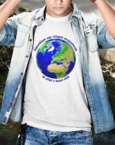 Álmodtam egy világot magamnak, itt állok a kapui előtt póló