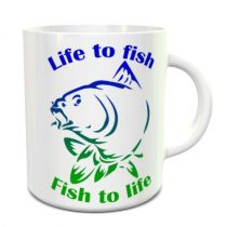 Life to fish - Fish to life bögre