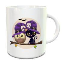 Halloween cartoon bögre