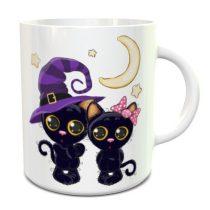 Halloween Cats bögre