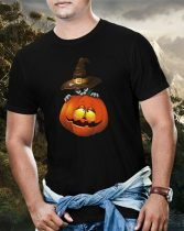 Halloween Pumpkin and Cat póló