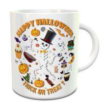 Happy Halloween Trick or Treat bögre
