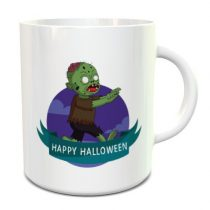 Happy Halloween Zombie bögre