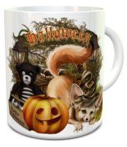 Halloween Fox bögre