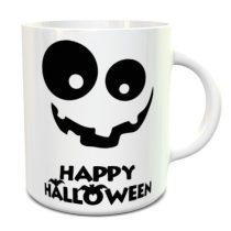Happy Halloween Pumpkin Smile bögre
