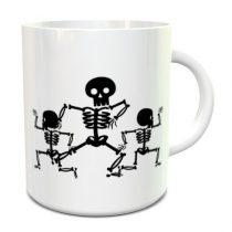 Three Skeletons bögre