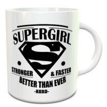 Supergirl bögre