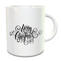 Merry Christmas bögre