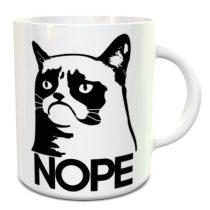 Grumpy Cat NOPE bögre