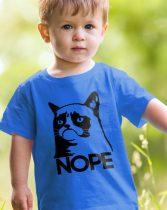 Grumpy Cat NOPE gyerek póló
