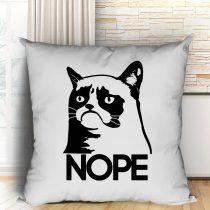 Grumpy Cat NOPE párna