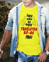 Így néz ki egy tökéletes pasi póló