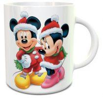 Mickey mikulás bögre