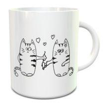 Doodle Cats bögre