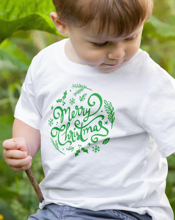 dcacdb0dc5 Boldog Karácsonyt gyerek póló - Fényképes, feliratos gyerek póló ...