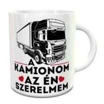 A kamionom az én szerelmem bögre