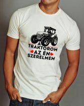 Traktoros póló -A traktorom a szerelmem