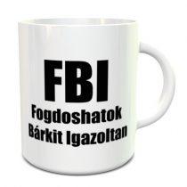 FBI bögre