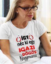 Így néz ki egy igazán dögös nagymama női póló