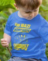 Egy igazi mozdonyvezető TAURUST vezet gyerek póló