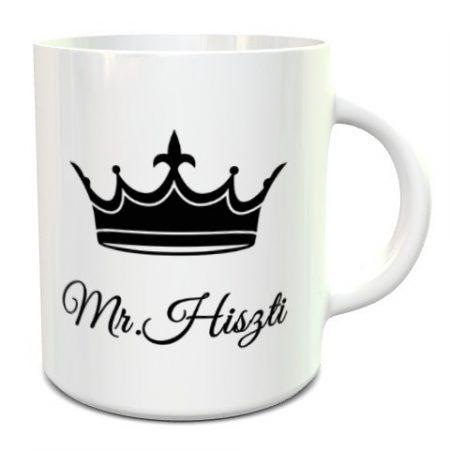 Mr. Hiszti bögre