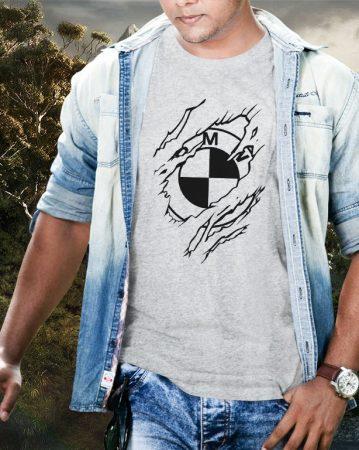 BMW szakadt póló