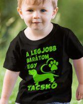 Tacsi gyerek póló