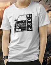 BMW M3 E30 póló