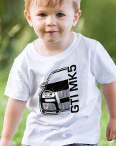Volkswagen Golf GTI Mk5 gyerek póló