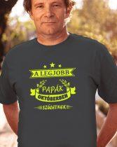 Szülinapi póló a legjobb papáknak