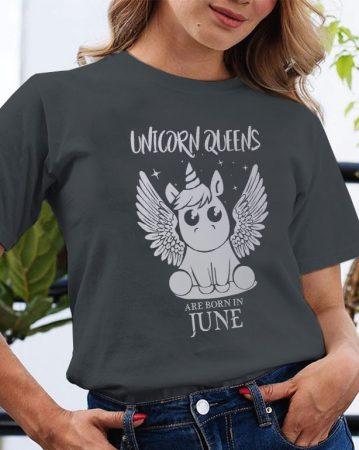 Szülinapi póló Unikornis Királynő
