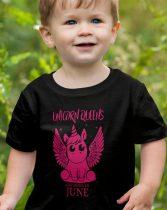 Szülinapi gyerek póló Unikornis Királynő
