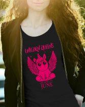 Szülinapi női póló Unikornis Királynő